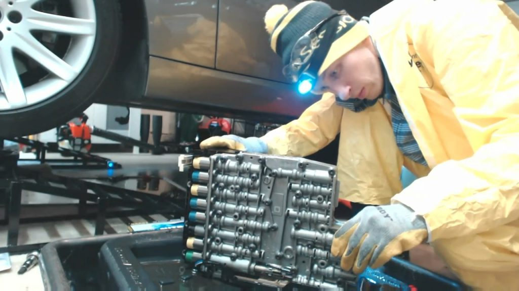 gasket replacements on mechatronic transmission unit